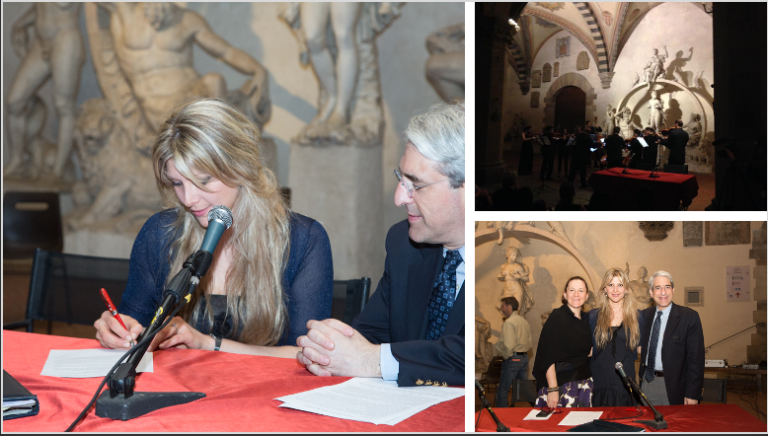 Firma Manifesto culturale - Museo Nazionale del Bargello - 10 giugno 2016